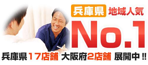 兵庫県:地域人気No1